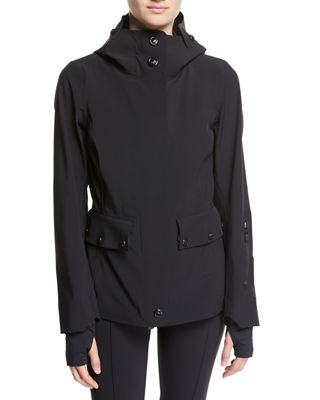Moncler Lozere Hooded Utility Jacket