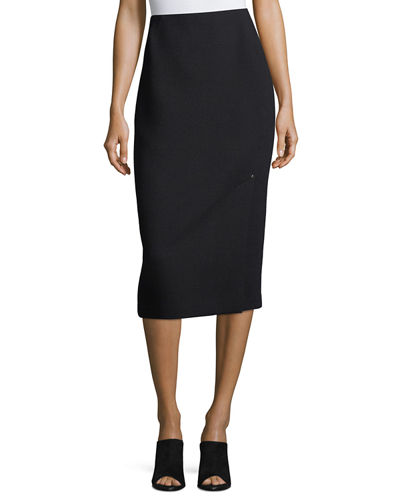 Lucina Nouveau Crepe Pencil Skirt
