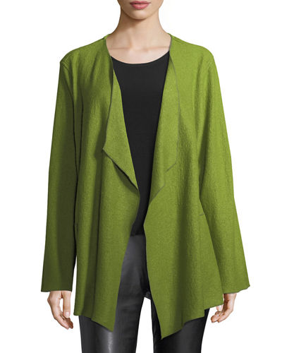 Petite Paris Plush Saturday Jacket