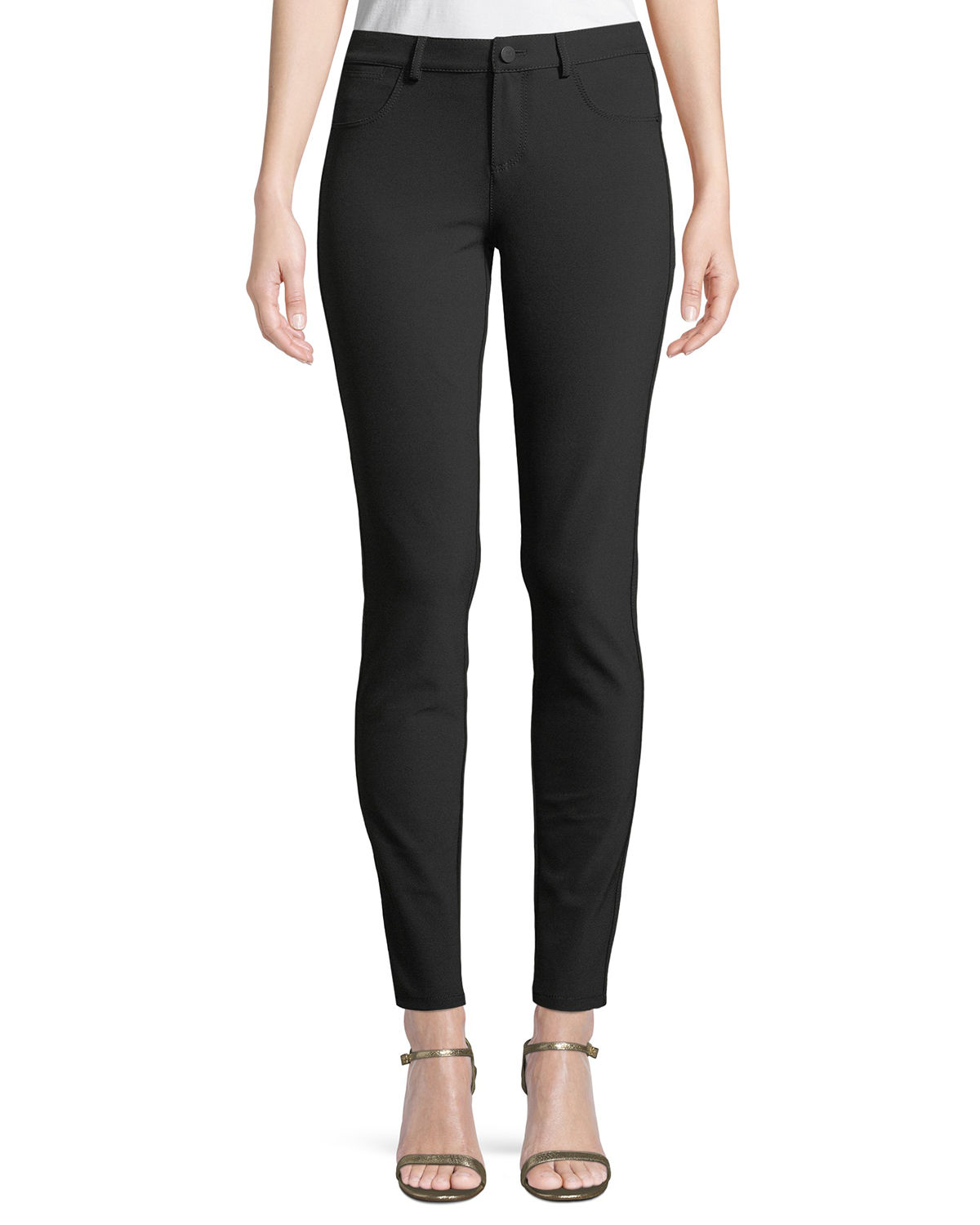 28a7db8f37 Lafayette 148 New York Mercer Acclaimed Stretch Mid-Rise Skinny Jeans