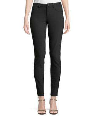 aa084f4fea4 Lafayette 148 New York Mercer Acclaimed Stretch Mid-Rise Skinny Jeans