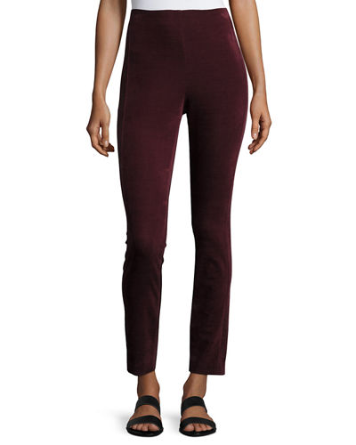Navalane High-Waist Velvet Pants