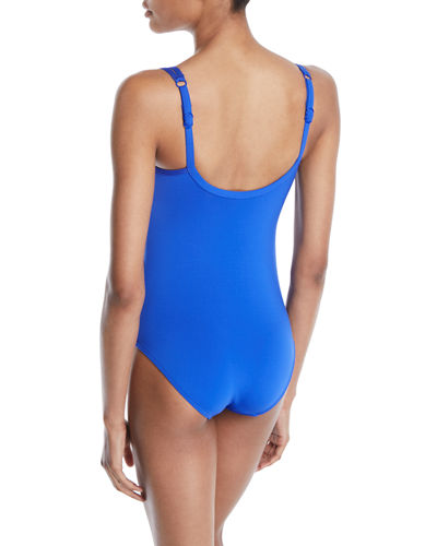 Jet Set One-Piece Swimsuit (Available in DD-E Cups)