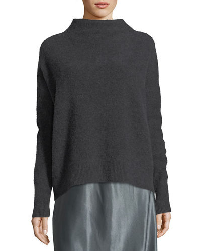 Vince Funnel-Neck Cashmere Pullover Sweater and Matching Items