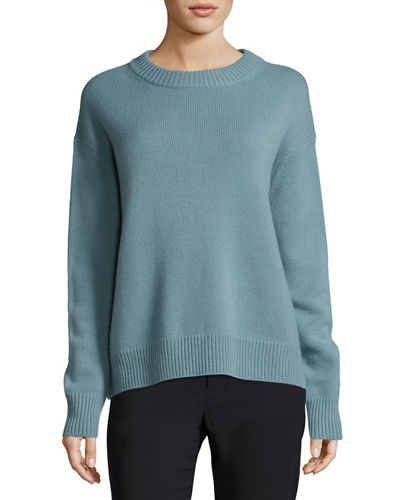 Vince Boxy Crewneck Cashmere Sweater and Matching Items