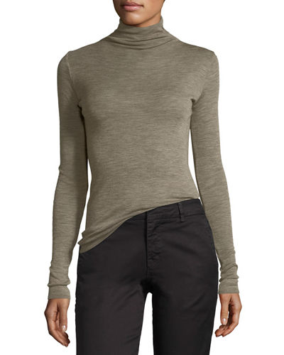 Vince Long-Sleeve Turtleneck Pullover Sweater and Matching Items