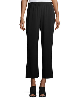 Image 1 of 3: Wide-Leg Ankle Pants, Plus Size