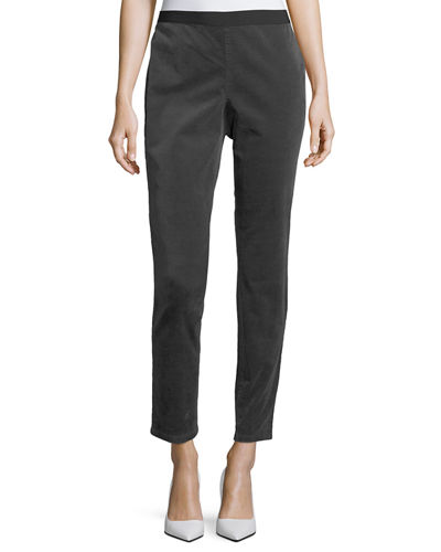 Slim Stretch-Corduroy Leggings
