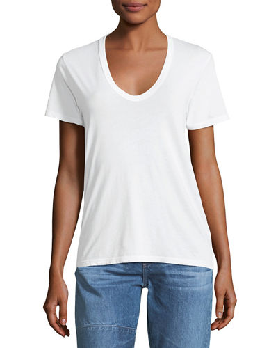 Henson V-Neck Cotton Tee