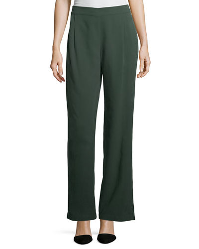 Eileen Fisher Woven Tencel® Grain Pants