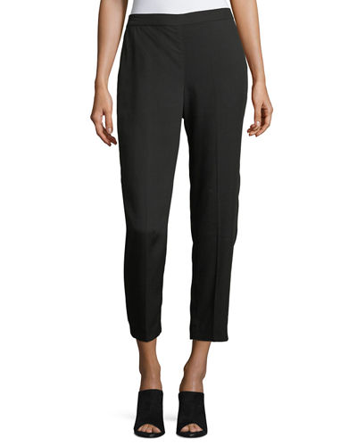 Eileen Fisher Woven Tencel® Grain Ankle Pants