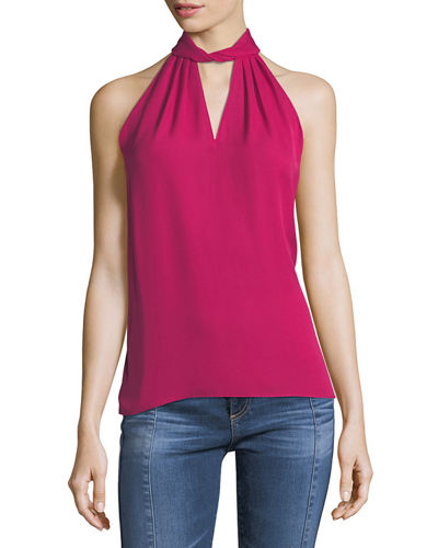 Trinity Halter-Neck Sleeveless Blouse