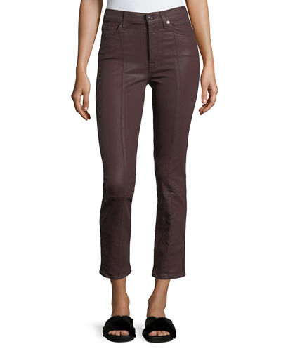 Edie Skinny Coated Pants