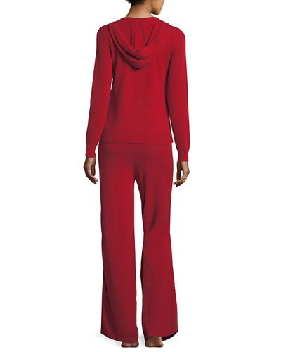 Cashmere Hoodie & Pant Lounge Set
