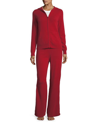 Neiman Marcus Cashmere Collection Cashmere Hoodie & Pant