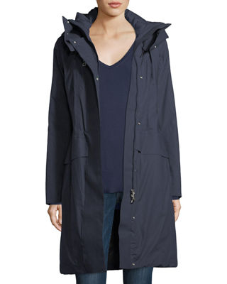 Peuterey Hooded Long-Sleeve Zip-Front Down Parka Coat
