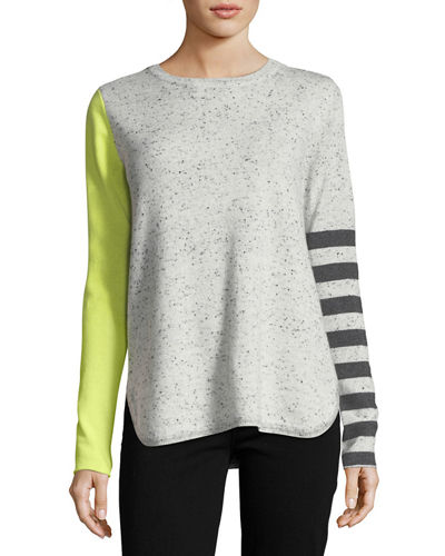 Lisa Todd Pop Rocks Cashmere Striped Sweater