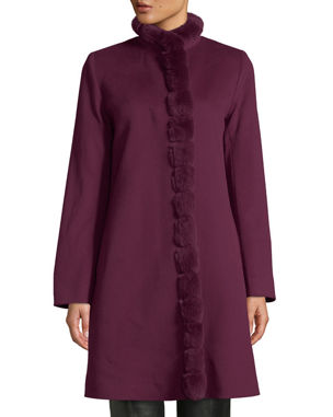 5bf06522152 Women s Cashmere   Wool Coats at Neiman Marcus