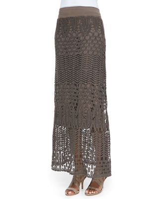 Image 1 of 3: Cecilia Crochet Skirt, Plus Size