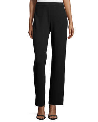 Joan Vass Full-Length Jog Pants, Petite