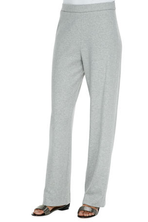 Joan Vass Petite Full-Length Jog Pants