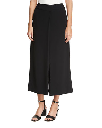Rag & Bone Victor Surplice Long-Sleeve High-Low Silk