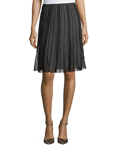 NIC+ZOE Batiste Flirt Pleated Skirt
