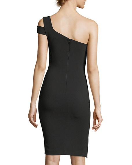 2ac468d9 Likely Packard One-Shoulder Cocktail Dress | Neiman Marcus