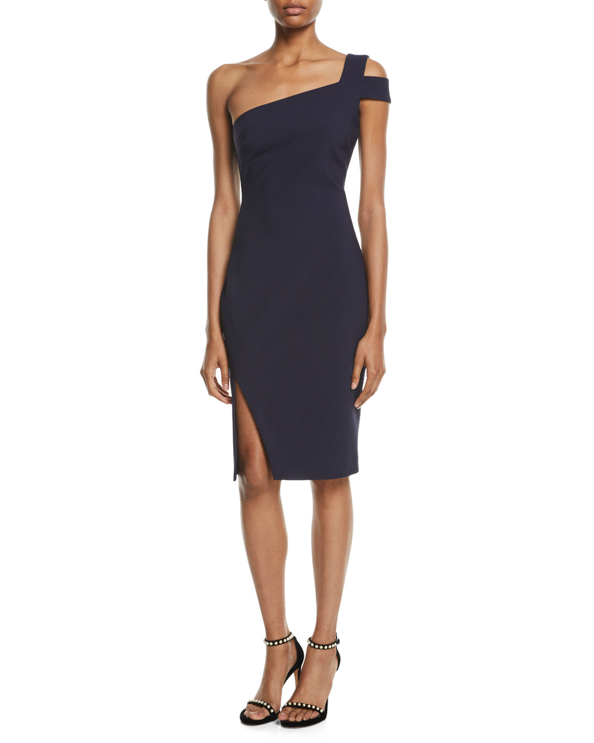 Likely Packard One-Shoulder Cocktail Dress | Neiman Marcus