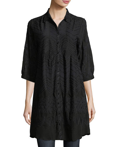 Ziggy Button-Front Tunic