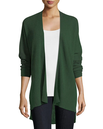 Eileen Fisher Fine Merino Links Open Cardigan