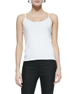 Eileen Fisher Scoop-Neck Jersey Cami