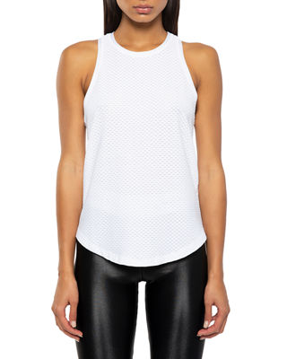 Koral Activewear Aerate Performance Mesh Tank