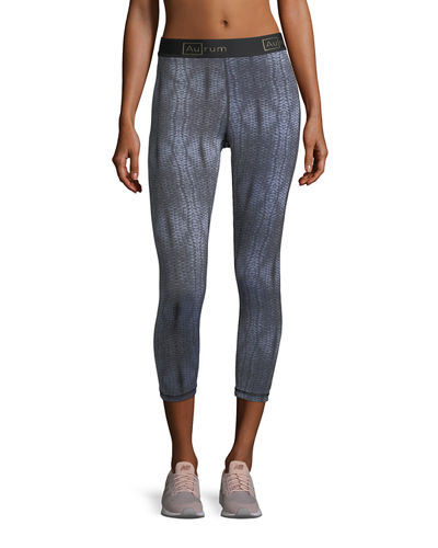Radiance Seamless Crop Performance Leggings