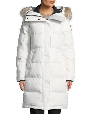 Canada Goose Rowley Hooded Quilted Parka Jacket w/