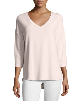 French Terry Relaxed Top