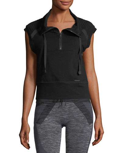 Blanc Noir Unite French-Terry Performance Vest