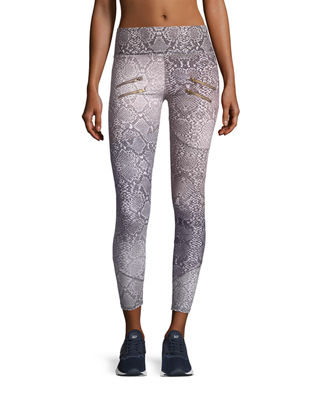 Palms Full-Length Performance Leggings w/ Zips