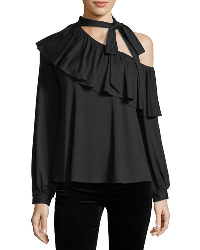 Markie Off-the-Shoulder Top, Plus Size