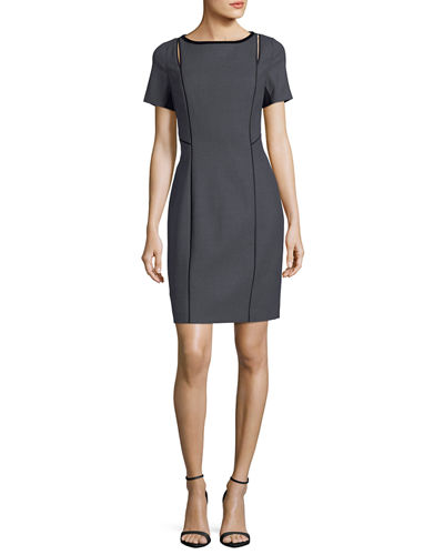 Jonas Cutout Short-Sleeve Dress