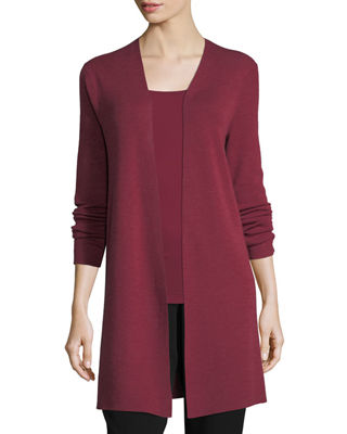 Eileen Fisher Ultrafine Merino Long Cardigan