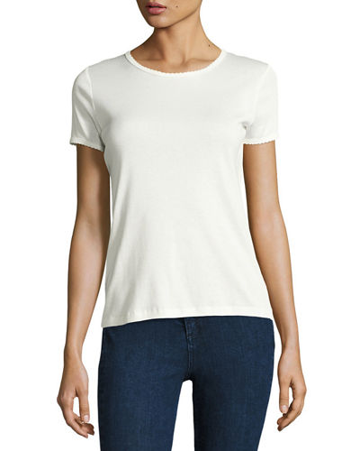 Rag & Bone Bridgette Rope-Trim Tee