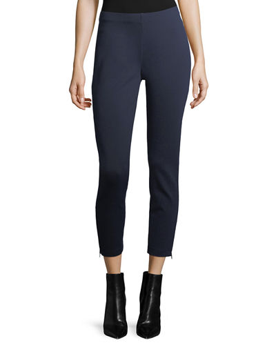 Eileen Fisher Heavyweight Slim Ankle Pants