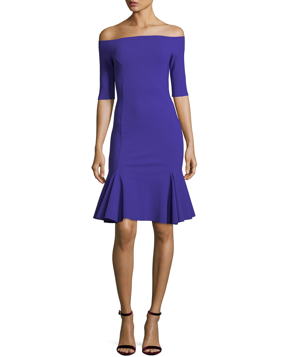 a6a97cb4 Omaira Off-the-Shoulder Cocktail Dress
