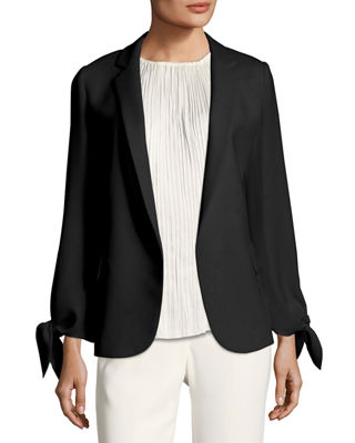 Image 1 of 2: Bria Finesse Crepe Jacket