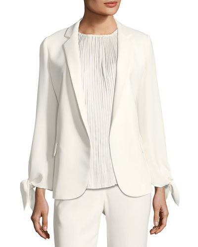 Lafayette 148 New York Bria FinesseCrepe Jacket and