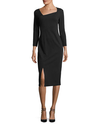 Shia Punto Milano Sheath Dress