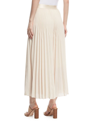 Image 2 of 3: Eden Pleated Wide-Leg Pants