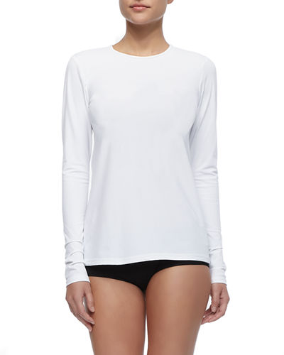 Cover Perfect UPF 50 Long-Sleeve Swim Tee and