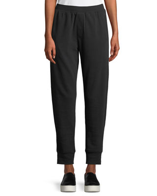 Image 1 of 3: Slim Cuffed Pull-On Terry Sweatpants